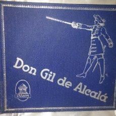 Discos de pizarra: ALBUM DISCO PIZARRA DON GIL DE ALCALA OBRA COMPLETA. Lote 99737023