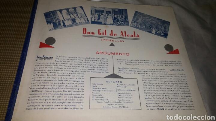 Discos de pizarra: ALBUM DISCO PIZARRA DON GIL DE ALCALA OBRA COMPLETA - Foto 2 - 99737023