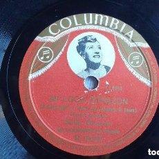 Discos de pizarra: SALLY BROWNE. MI LOCO CORAZÓN. Lote 100085039