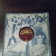 Discos de pizarra: DISCO PIZARRA KINO-ORGEL CAROLINE MOON GIRL OF MY DREAMS. Lote 100618971