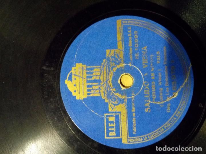 Discos de pizarra: disco pizarra saludo a viena olas del danubio - Foto 2 - 100744435
