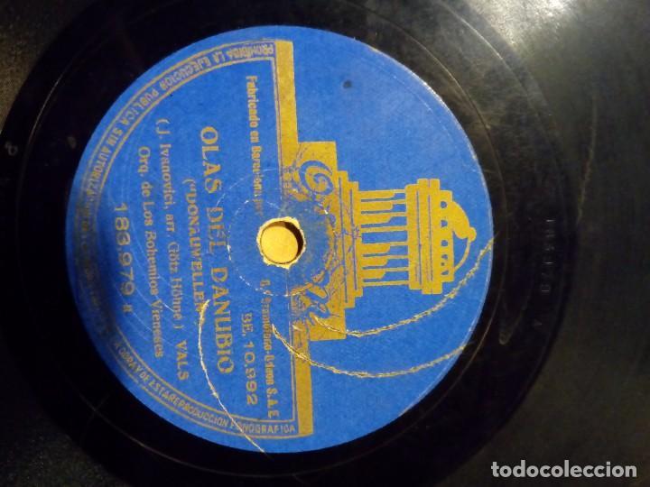 Discos de pizarra: disco pizarra saludo a viena olas del danubio - Foto 4 - 100744435