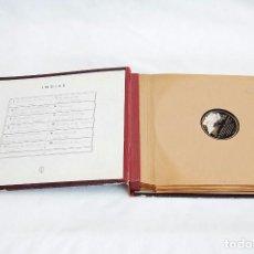 Discos de pizarra: LP PIZARRA. CONCHITA PIQUER / GRACIA DE TRIANA / ANTONIO AMAYA / J. VALDERRAMA Y OTROS (ALBUM). Lote 101146483