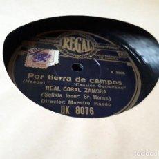 Discos de pizarra: POR TIERRA DE CAMPOS DISCO DE PIZARRA. Lote 101698811