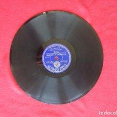 Discos de pizarra: DISCO PIZARRA NEGRA CONSENTIDA EL VENDEDOR DE CACAHUETES DURAN ORQUESTA 25 CM PARLOPHON 26554. Lote 101988999