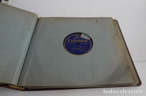 Discos de pizarra: Álbum con 12 discos de pizarra. Piano - Foto 2 - 103063259