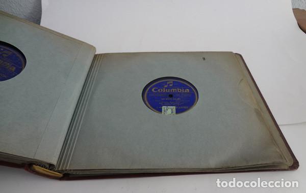 Discos de pizarra: Álbum con 12 discos de pizarra. Piano - Foto 3 - 103063259