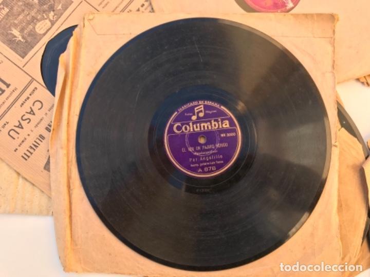 Discos de pizarra: Fantastico lote de 8 discos pizarra, gramola - Foto 3 - 103870727