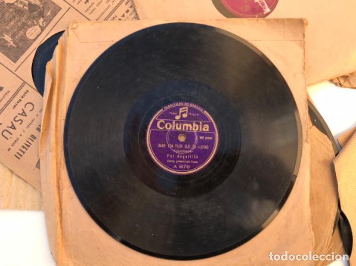Discos de pizarra: Fantastico lote de 8 discos pizarra, gramola - Foto 4 - 103870727