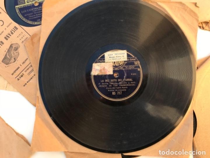 Discos de pizarra: Fantastico lote de 8 discos pizarra, gramola - Foto 5 - 103870727