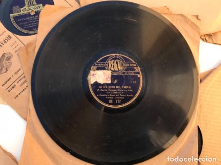 Discos de pizarra: Fantastico lote de 8 discos pizarra, gramola - Foto 6 - 103870727
