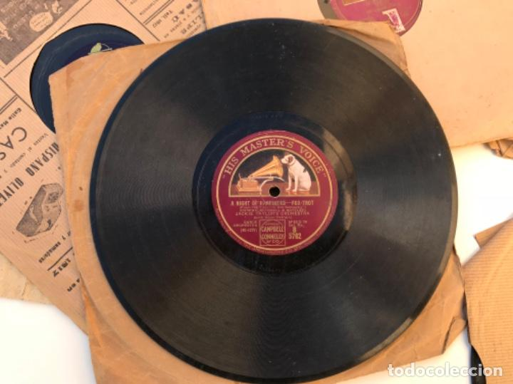 Discos de pizarra: Fantastico lote de 8 discos pizarra, gramola - Foto 7 - 103870727