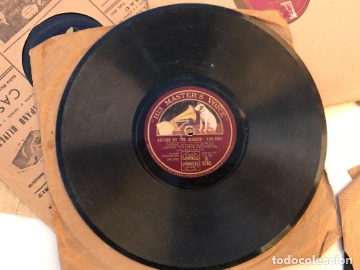 Discos de pizarra: Fantastico lote de 8 discos pizarra, gramola - Foto 8 - 103870727