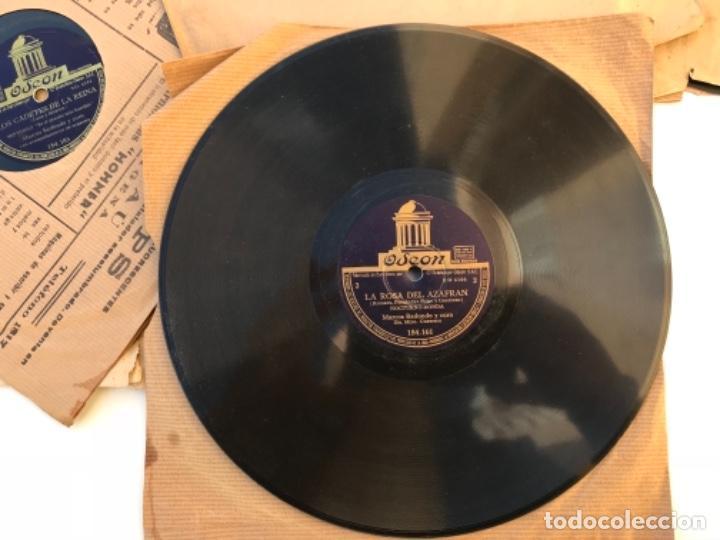 Discos de pizarra: Fantastico lote de 8 discos pizarra, gramola - Foto 9 - 103870727