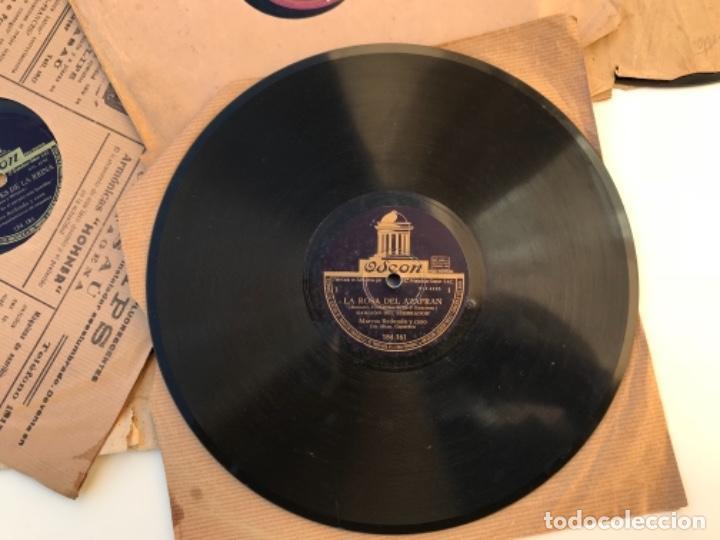 Discos de pizarra: Fantastico lote de 8 discos pizarra, gramola - Foto 10 - 103870727