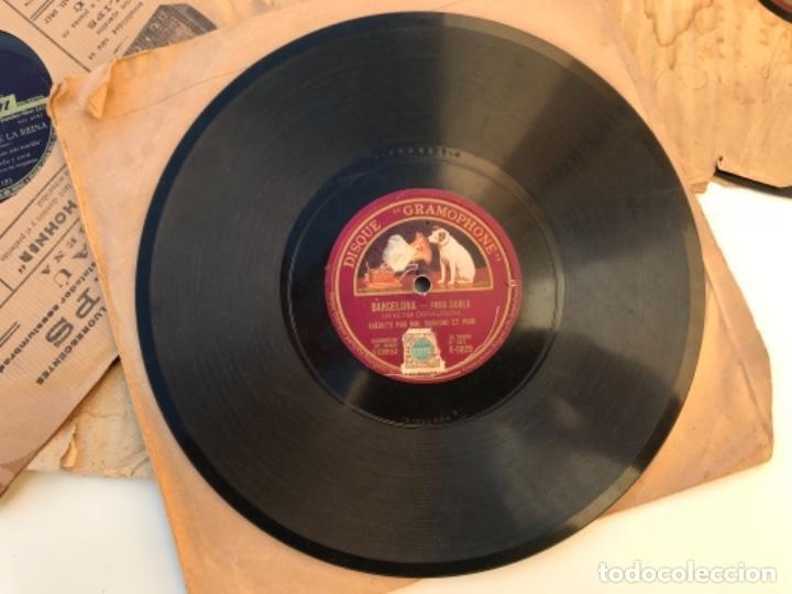 Discos de pizarra: Fantastico lote de 8 discos pizarra, gramola - Foto 12 - 103870727