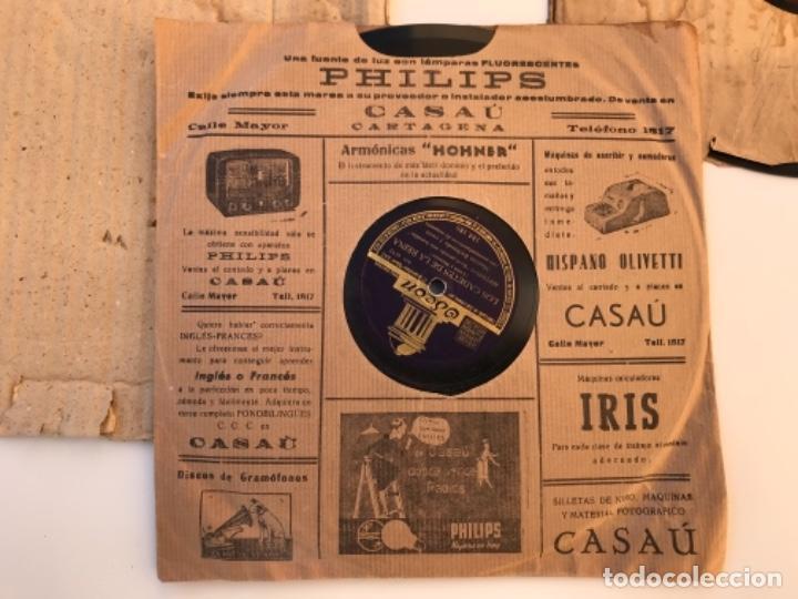 Discos de pizarra: Fantastico lote de 8 discos pizarra, gramola - Foto 14 - 103870727
