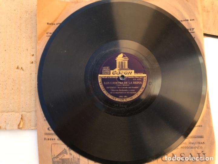 Discos de pizarra: Fantastico lote de 8 discos pizarra, gramola - Foto 15 - 103870727