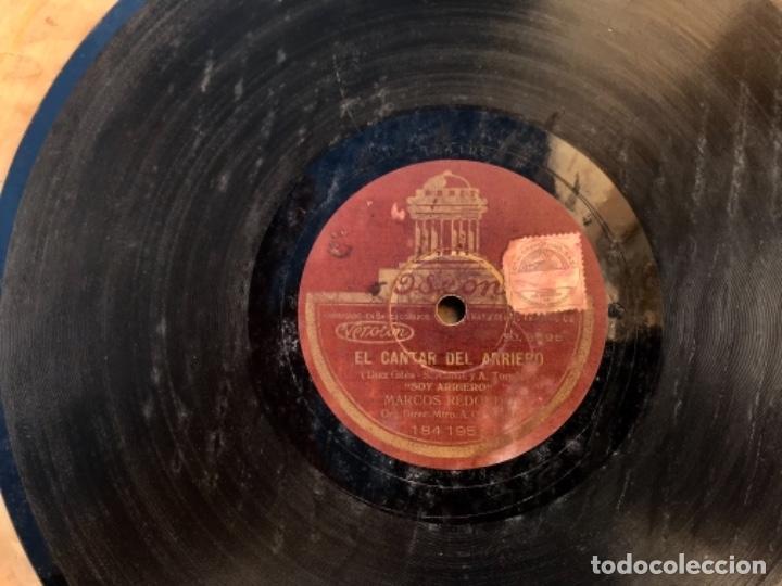 Discos de pizarra: Fantastico lote de 8 discos pizarra, gramola - Foto 20 - 103870727