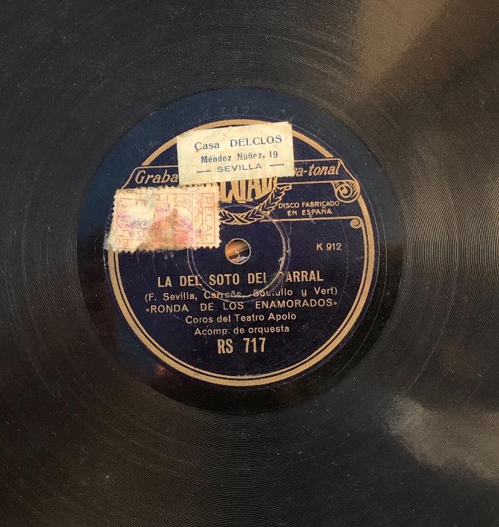 Discos de pizarra: Fantastico lote de 8 discos pizarra, gramola - Foto 26 - 103870727
