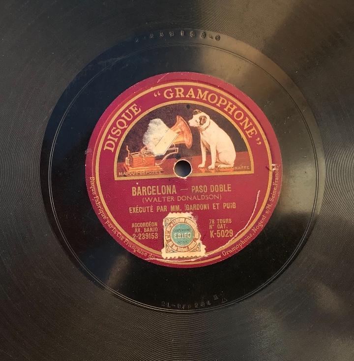 Discos de pizarra: Fantastico lote de 8 discos pizarra, gramola - Foto 33 - 103870727