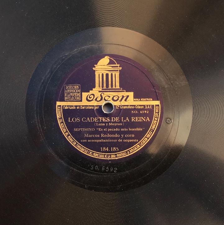 Discos de pizarra: Fantastico lote de 8 discos pizarra, gramola - Foto 34 - 103870727