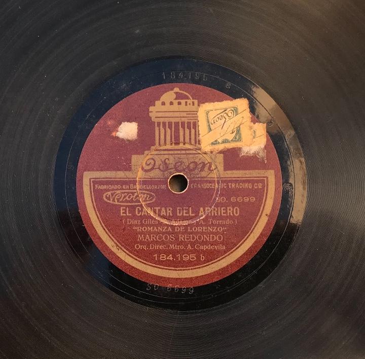 Discos de pizarra: Fantastico lote de 8 discos pizarra, gramola - Foto 36 - 103870727