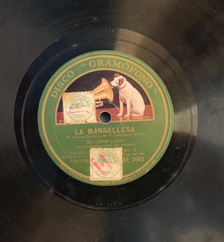 Discos de pizarra: Fantastico lote de 8 discos pizarra, gramola - Foto 39 - 103870727