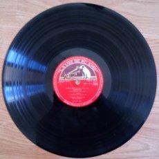 Discos de pizarra: DISCO DE PIZARRA ROSAMUNDA OP. 26 LA VOZ DE SU AMO. FRANZ SHUBERT. ORQUESTA FILARMÓNICA PAUL KLETZKI. Lote 104062395