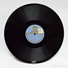 Discos de pizarra: DISCO DE PIZARRA ODEON DE CASIMIRO ORTAS.. Lote 104090695