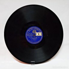 Discos de pizarra: DISCO DE PIZARRA PARLOPHON DE BANDA SEVILLANA DE TOMARES.. Lote 104279883