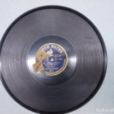 Discos de pizarra: DISCO DE PIZARRA PARA GRAMOFONO DE AMALIA MOLINA - BULERIAS GITANAS -MAÑICO Y LOS GUITARRICOS. Lote 104809107