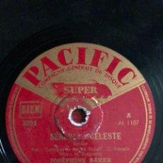 Discos de pizarra: DISCO PIZARRA 78 RPM JOSEPHINE BAKER. Lote 105075507
