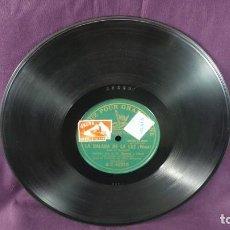 Discos de pizarra: DISCO PARA GRAMÓFONO , LA BALADA DE LA LUZ. Lote 107907091