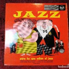 Discos de pizarra: JAZZ PARA LOS QUE ODIAN EL JAZZ - EP ESPAÑOL--RCA 3-20019. Lote 107994459