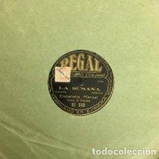 Discos de pizarra: ENCARNITA MARZAL. LA SUSANA. LA HISTORIA DE SIEMPRE. DISCO PIZARRA,10 PULGADAS. D-PIZARRA-0008. Lote 108780739