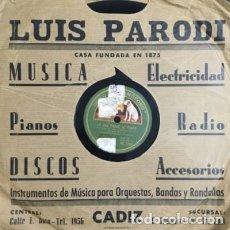 Discos de pizarra: AMALIA MOLINA EN UNA TARDE DE TOROS. MI VIEJA ESPAÑA. DISCO PIZARRA,10 PULGADAS. D-PIZARRA-0014. Lote 108792187