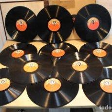 Discos de pizarra: 12 DISCOS PIZARRA ANA MARIA GONZALEZ, ALBUM INCLUIDO. Lote 109308227