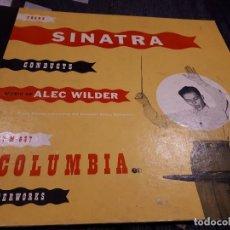Discos de pizarra: ALBUM DISCOS DE PIZARRA FRANK SINATRA. Lote 109931823