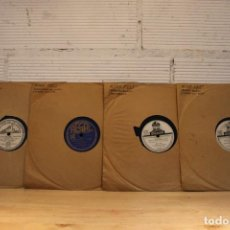 Discos de pizarra: LOTE 4 DISCOS DE PIZARRA RINA CELI.. Lote 127858022