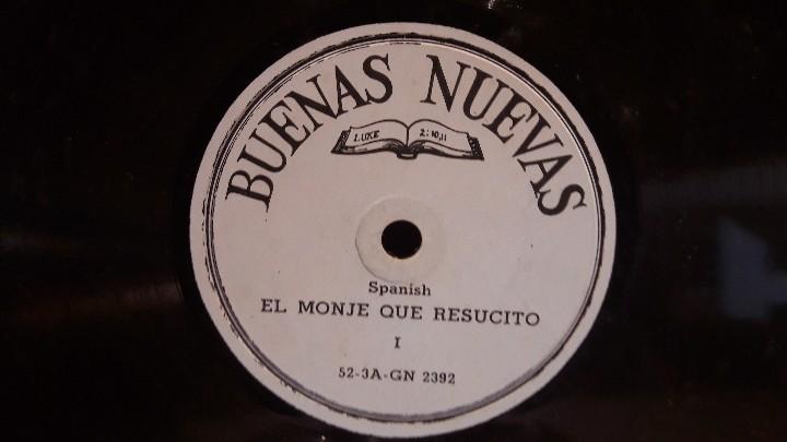 Discos de pizarra: PIZARRA !! DOS DISCOS DE PIZARRA 21 CM ( 8 PULGADAS ) EDITADOS POR BUENAS NUEVAS / MBC. / RAROS - Foto 2 - 110366987