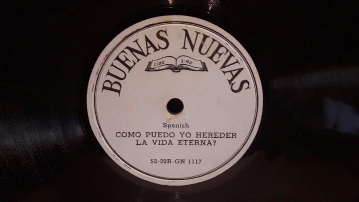 Discos de pizarra: PIZARRA !! DOS DISCOS DE PIZARRA 21 CM ( 8 PULGADAS ) EDITADOS POR BUENAS NUEVAS / MBC. / RAROS - Foto 4 - 110366987