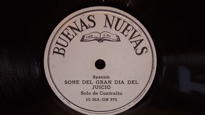 Discos de pizarra: PIZARRA !! DOS DISCOS DE PIZARRA 21 CM ( 8 PULGADAS ) EDITADOS POR BUENAS NUEVAS / MBC. / RAROS - Foto 5 - 110366987