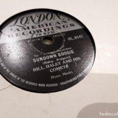 Discos de pizarra: DISCO DE PIZARRA BILL HALEY. Lote 110575635