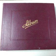 Discos de pizarra: ALBUM DE DISCOS DE PIZARRA, LA VOZ DE SU AMO. Lote 111338799