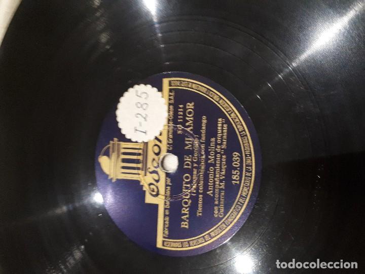 Discos de pizarra: Barquito de mi Amor disco de pizarra Antonio Molina - Foto 2 - 111408127
