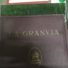 Discos de pizarra: LA GRANVIA (ODEON) DISCOS. Lote 111854694