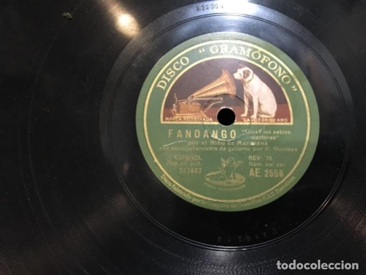 Discos de pizarra: Disco pizarra la voz de su amo pepe marchena cartagenera - Foto 4 - 112007711