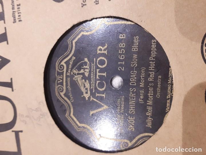 Discos de pizarra: Disco de pizarra Jelly Roll Morton jazz - Foto 2 - 112068115