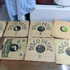 Discos de pizarra: LOTE DE 7 DISCOS DE PIZARRA DE DIFERENTES TEMAS . Lote 112084703
